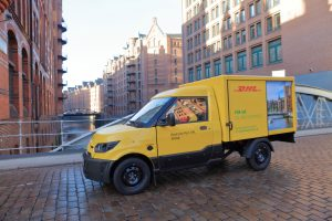 Emission-free parcel delivery: Deutsche Post Streetscooter [Photo: DHL]