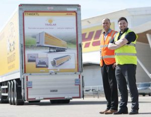 Aaron Thomas and Denny Hulme, co-founders of Trailar [Photo: Deutsche Post DHL Group]
