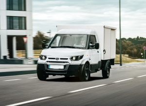 Exhaust free electric transporters like the StreetScooter remain unfazed by possible driving bans for diesels and as such secure the suply chain up to the last mile. [Photo: StreetScooter GmbH]