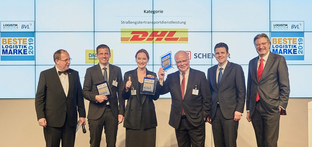 Best Logistics Brand 2019 - DHL Freight ConnectionsDHL