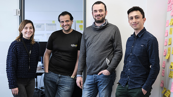 The Product Team at the digital freight exchange platform Saloodo! Works fast, agilely and results-oriented to create logistics solutions that really help users.