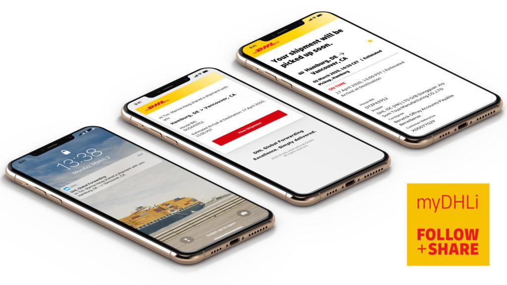 Die Plattform myDHLi ist nun, mit mehr Funktionen als zuvor, auch für die Straßenfracht verfügbar – ein Highlight der Digitalisierung in der Logistik.