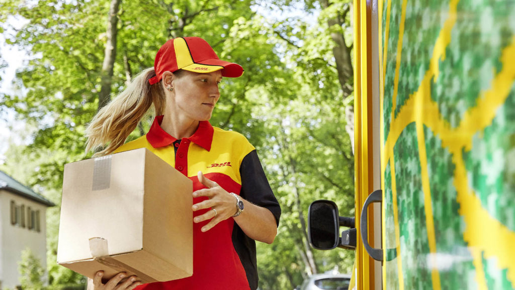 More sustainable packaging - a key aim for DHL Freight.